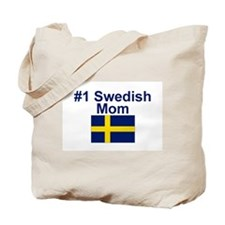 #1 Swedish Mom Tote Bag