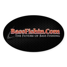 BassFishin.Com Rectangle Sticker Decal