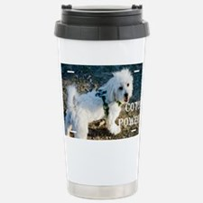 coton powered LICENCE copy Travel Mug