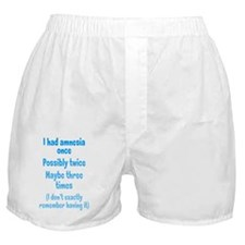 amnesia_tall1 Boxer Shorts