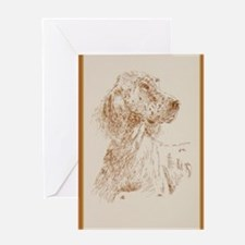 English_Setter_KlineY Greeting Card