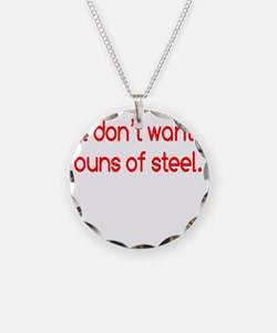 buns-of-steel2 Necklace