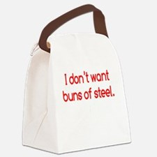 buns-of-steel2 Canvas Lunch Bag