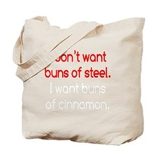 buns-of-steel2 Tote Bag