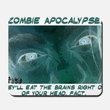zombie 3 design copy Mousepad