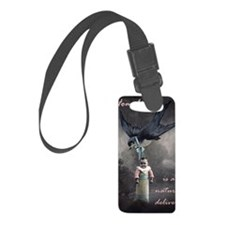 bird delivery 7x10 Luggage Tag