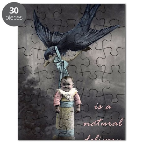 bird delivery 7x10 Puzzle