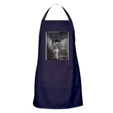 bird delivery 7x10 Apron (dark)