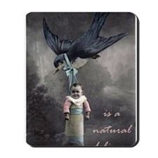 bird delivery 7x10 Mousepad