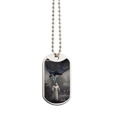 bird delivery 7x10 Dog Tags