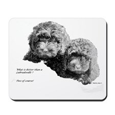 Two of Course Mousepad