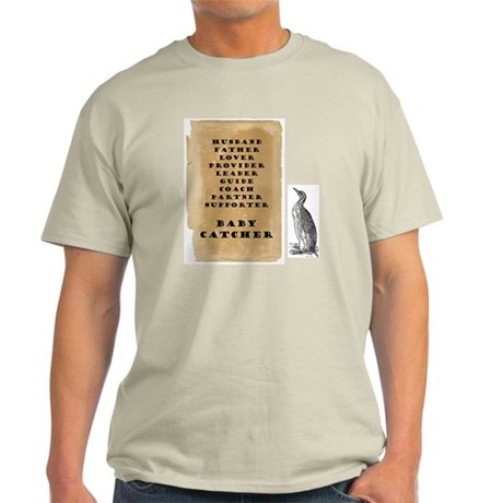 Penguin father 9x9 Light T-Shirt