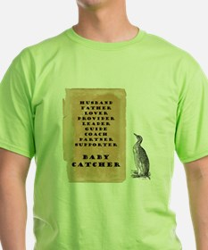 Penguin father 9x9 T-Shirt