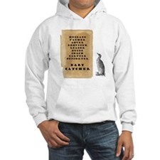 Penguin father 9x9 Hoodie