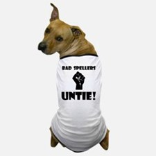 Bad Spellers Black Dog T-Shirt