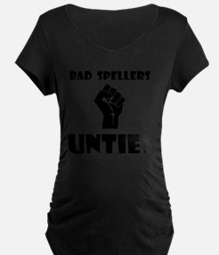 Bad Spellers Black T-Shirt