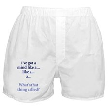 mind-like-a_tall1 Boxer Shorts
