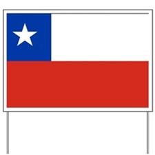 chile-flag Yard Sign