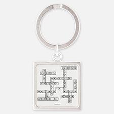 versheck Square Keychain