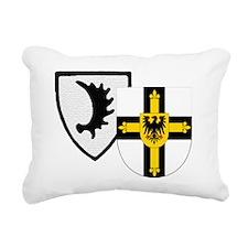 Ostpreussen Teutonic Kni Rectangular Canvas Pillow