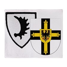 Ostpreussen Teutonic Knights Throw Blanket
