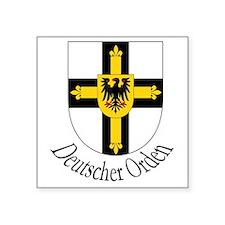 """Deutscher Orden Square Sticker 3"""" x 3"""""""