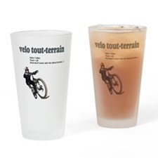 Velo_tout-terrain Drinking Glass