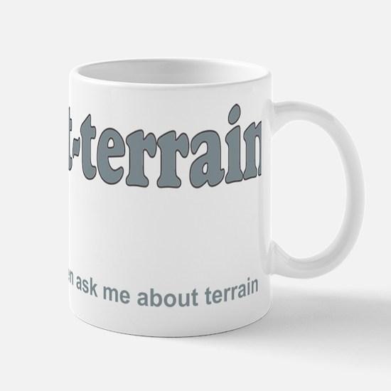 Velo_tout-terrain_back_wht Mug