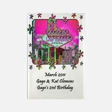 gage kate journal Rectangle Magnet