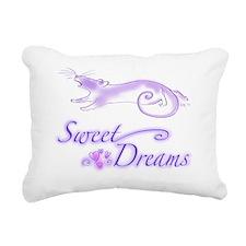 sweet dreams rattie Rectangular Canvas Pillow
