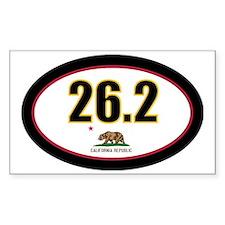 CALIFORNIA-262-OVALsticker Decal