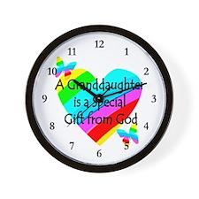 GRANDDAUGHTER Wall Clock