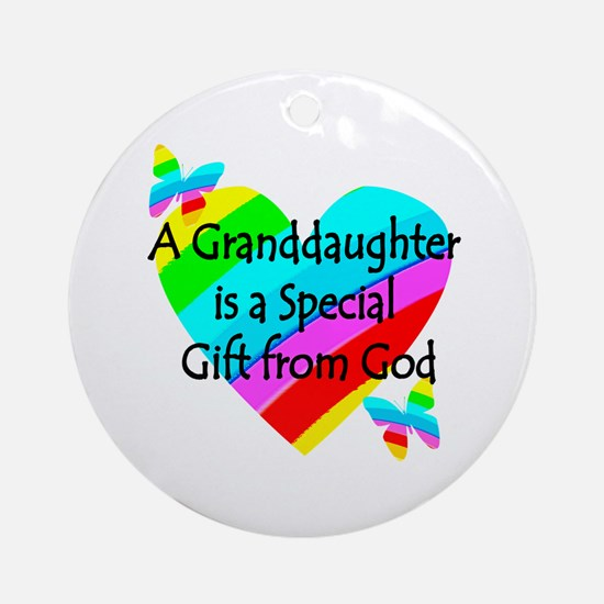 GRANDDAUGHTER Ornament (Round)