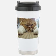 Flat Out Snoozin Travel Mug