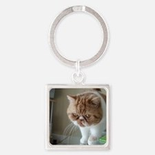 Here I come! Square Keychain