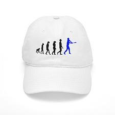 baseball evo blue Baseball Cap