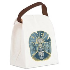 tune-in-T Canvas Lunch Bag