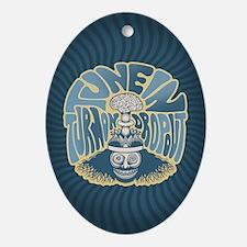 tune-in-CRD Oval Ornament