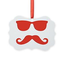 mustache6_red Ornament