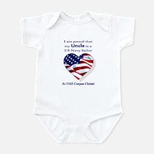 Uncle... NAS Corpus Christi Infant Bodysuit