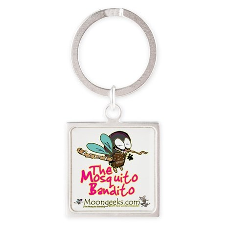 Moongeeks [Mosquito Bandito](BT) Square Keychain