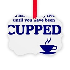 Cupped-I Ornament