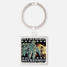 brotherhood Square Keychain