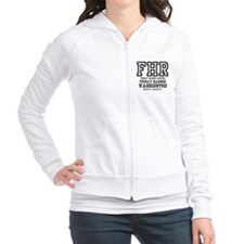 AIRPORT CODES - FHR - FRIDAY HARBOR - W Fitted Hoodie