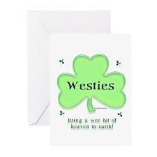 Westie Heaven Greeting Cards (Pk of 10)