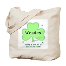 Westie Heaven Tote Bag