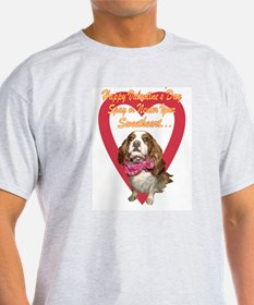 Spay Your Sweetheart  Ash Grey T-Shirt