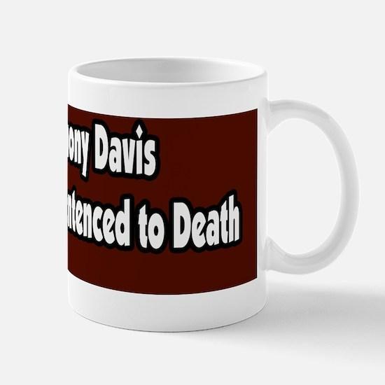 Free-Troy-Anthony-Davis-Bumper-Sticker Mug