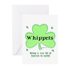 Whippet Heaven Greeting Cards (Pk of 10)