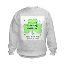 Wirehaired Griffon Heaven Sweatshirt